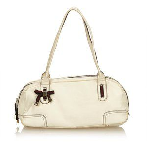 Gucci Cream Leather Princy Shoulder Bag